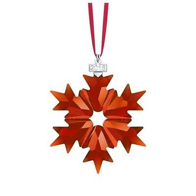 Swarovski Crystal 2018 Holiday Ornament 5460487.new In Box