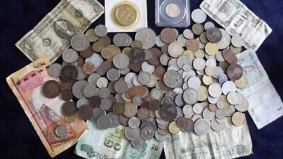 JOB LOT OF OLD COINS AND BANKNOTES  99p LLA3 X