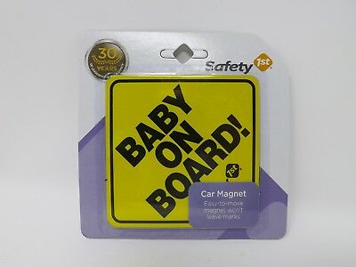 Safety 1st Baby on Board! Car Magnet - New