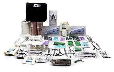 Surgical Skin Stapler First Aid Emergency Kit - Surgical Suture Set - 100 Piece
