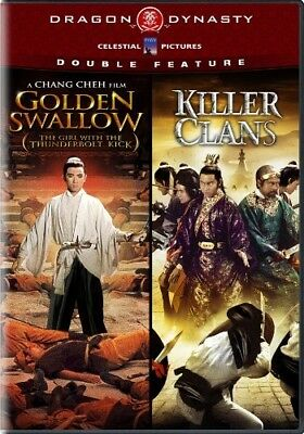 GOLDEN SWALLOW + KILLER CLANS New DVD Dragon Dynasty Double Feature