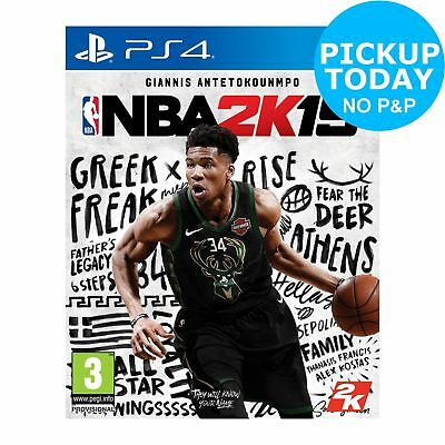 NBA 2K19 Sony Playsation PS4 Game 3+ Years