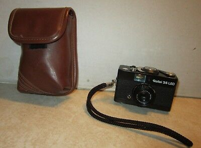 Vintage Rollei 35 LED Camera w/ Case  F957