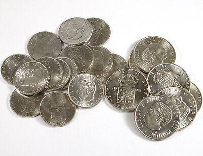 Sweden Silver Coin Lot - 21 Coins - 2.52 Ozt Total!