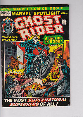 Marvel spotlight 5 ghost rider first 1st appearance rare comic book