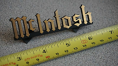 McIntosh Labs original emblem, badge, logo.  LRG