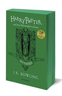 Rowling J.K.-Harry Potter And The Philosopher`S Stone - Slytherin Editi BOOK NEW