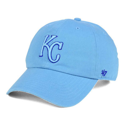 e79447d690c Kansas City Royals MLB Tonal Pop 47 CLEAN UP Cap Hat Adjustable Baseball  Mens KC