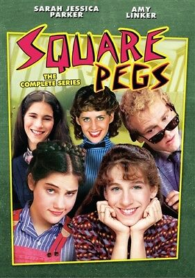 SQUARE PEGS COMPLETE SERIES Sealed New DVD Sarah Jessica Parker