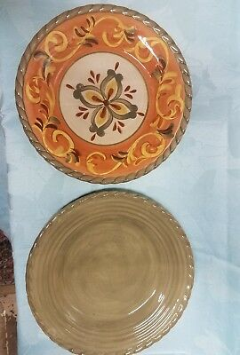 ARTIMINO TUSCAN COUNTRYSIDE Dinner Plates - $49.95   PicClick