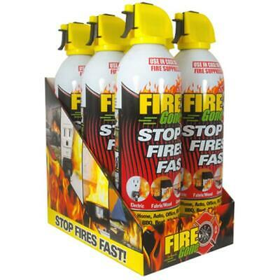 Max Professional FG6-067-106 Fire Gone 6-can Countertop Display