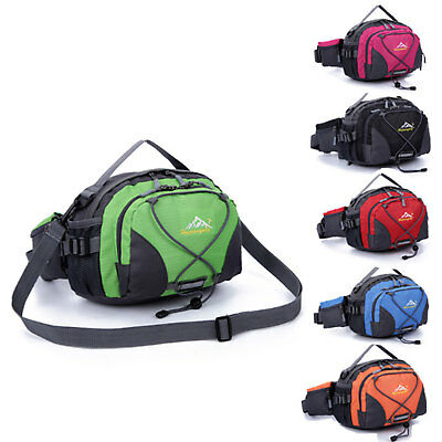 Camping Sport Hiking Zip Bag Running Belt Bum Waist Pouch Fanny Pack Shoulder