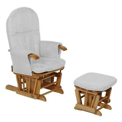 Tutti Bambini GC35 Glider Chair & Stool (Natural with Grey) Reclining Chair