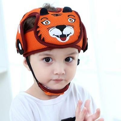 Kids Toddler Baby Safety Hat Helmet Headguard Adjustable Walk Cap Anti-Collision