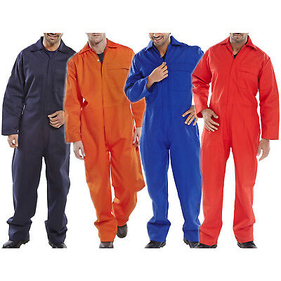 Heavy Duty Flame Retardant Boiler Suit Overall Coverall Welding Fabrication Work