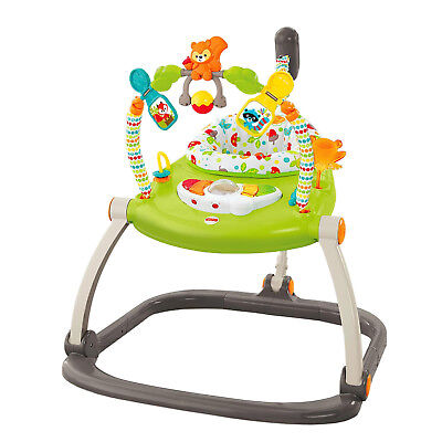 Fisher Price Woodland Friends Baby Jumperoo Infant Play Bouncer | CBV62