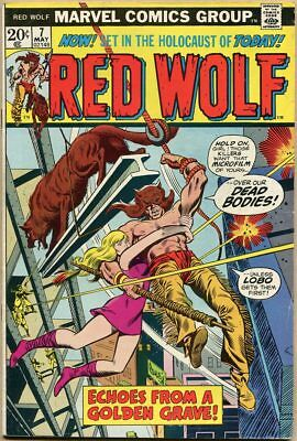 Red Wolf #7 - VG/FN