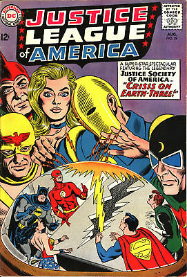 Justice League Of America #29 - Crisis Crossover - Solid FINE!