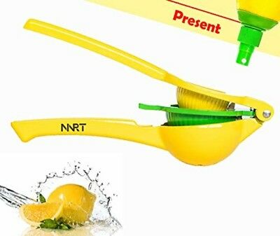NNRT metal lemon juicer - hand juicer fresh citrus juicer aluminum acid orange j