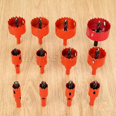 Steel Hole Saw Holesaw Drill Bits Cutting Drilling Metal Wood Alloy Pipe Cutter