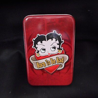 "NEW Betty Boop ""Bad to the Bone"" Double Deck of Playing Cards from Vandor"