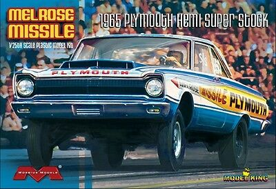 "Model King1229   1965 Plymouth ""Melrose Missile"" Hemi Super Stock model kit 1/25"