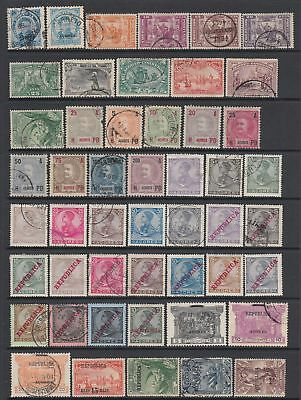 Azores 1882-1912 collection , 79 stamps
