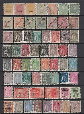 Portuguese Guinea .early collection, 60 stamps