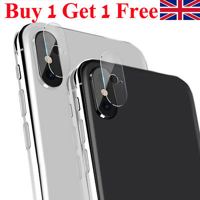 Rear Camera Lens Tempered Glass Films Protector Cover For iPhone XS XR 8/7 Plus