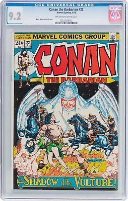 Conan the Barbarian #22 (Marvel, 1973) CGC NM- 9.2 Off-White to White Pages