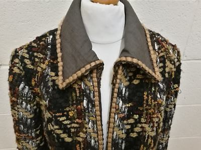 Gorgeous Wolf H Busse 1960s Vintage Wool Jacket. Size 10 Fabulous Cond.Jackie O!