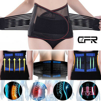 Medical Heat Waist Belt Brace For Lower Back Pain Relief Therapy Support Hot HG