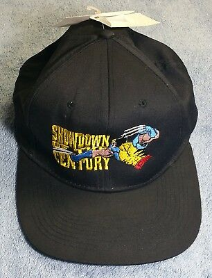 Vintage 90s Marvel Showdown of the Century Wolverine Hat Cap New w tags