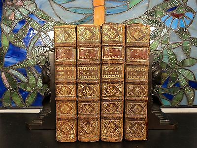 1715 Life Of Charles V Holy Romano Empire Militar Battles Wars Portraits 4v