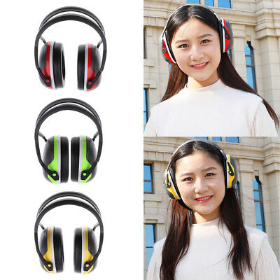 Kid Hearing Protection Ear Muffs Cover Noise Reduction Earmuffs Working Sleeping