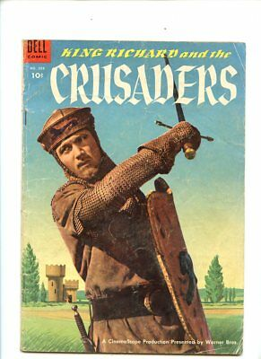 Four Color #588 (1954) King Richard and the Crusaders Photo Cover Dell GD+