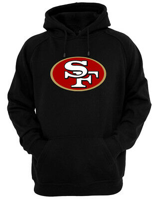 49ers - Black Hoodie Fan SF San Francisco The Bay Town City All Sizes S-2XL