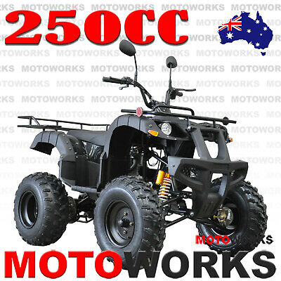 MOTOWORKS 250CC FARM ATV QUAD BUGGY Gokart 4 Wheeler MOTOR BIKE RED