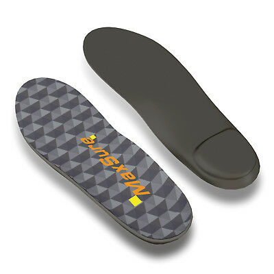 Orthotic Shoe Insoles Inserts Pads Flat Feet Foot Plantar High Arch Heel Support
