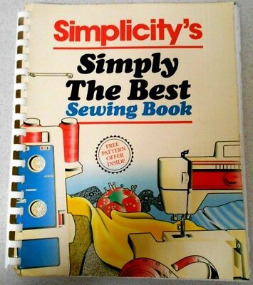 Simplicity's  Simply The Best Sewing Book  -  Diy How-To  S/C Book
