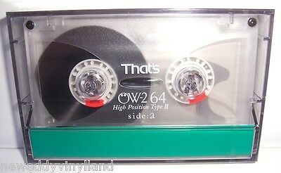 THATS OW-2 64 vintage audio cassette blank tape sealed Japan