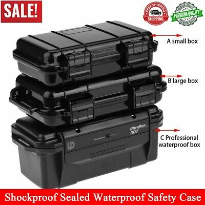 Outdoor Shockproof Sealed Waterproof Safety Case ABS Plastic Tool Dry Box Holder