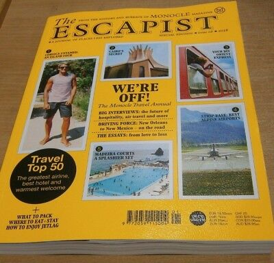 Monocle magazine Special Ed #8 2018 The Escapist Journal of Places Less Explored