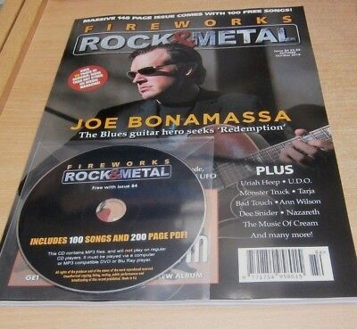 Fireworks magazine #84 Autumn OCT-DEC 2018 Joe Bonamassa, Uriah Heep, UDO + CD