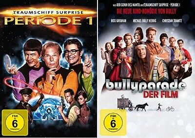 Traumschiff Surprise Periode 1 + Bullyparade Der Film DVD Set NEU OVP