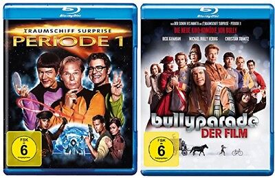 Traumschiff Surprise Periode 1 + Bullyparade Der Film Blu-ray Set NEU OVP