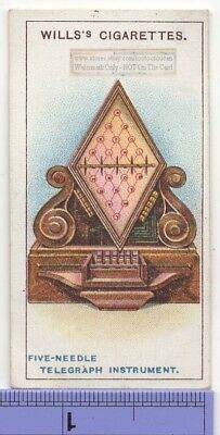 Cooke and Wheatstone Five Needle Telegraph Instrument 1915  Ad Trade Card 19