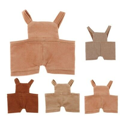 Charming Suspender Pants Overalls for 20cm Doll and Toy Bears Clothes Decor