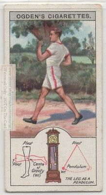 Analysis Of Human Leg Motion As A Pendulum c90 Y/O Trade Ad Card