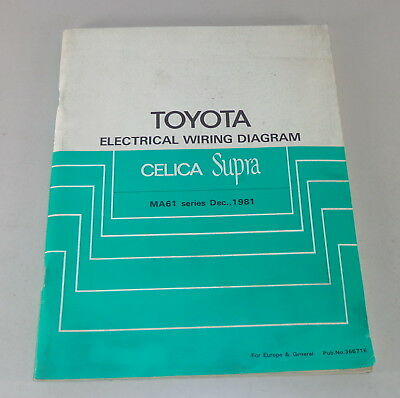 Series Electrical Circuit Diagram | Workshop Manual Toyota Celica Electrical Wiring Diagram Supplement